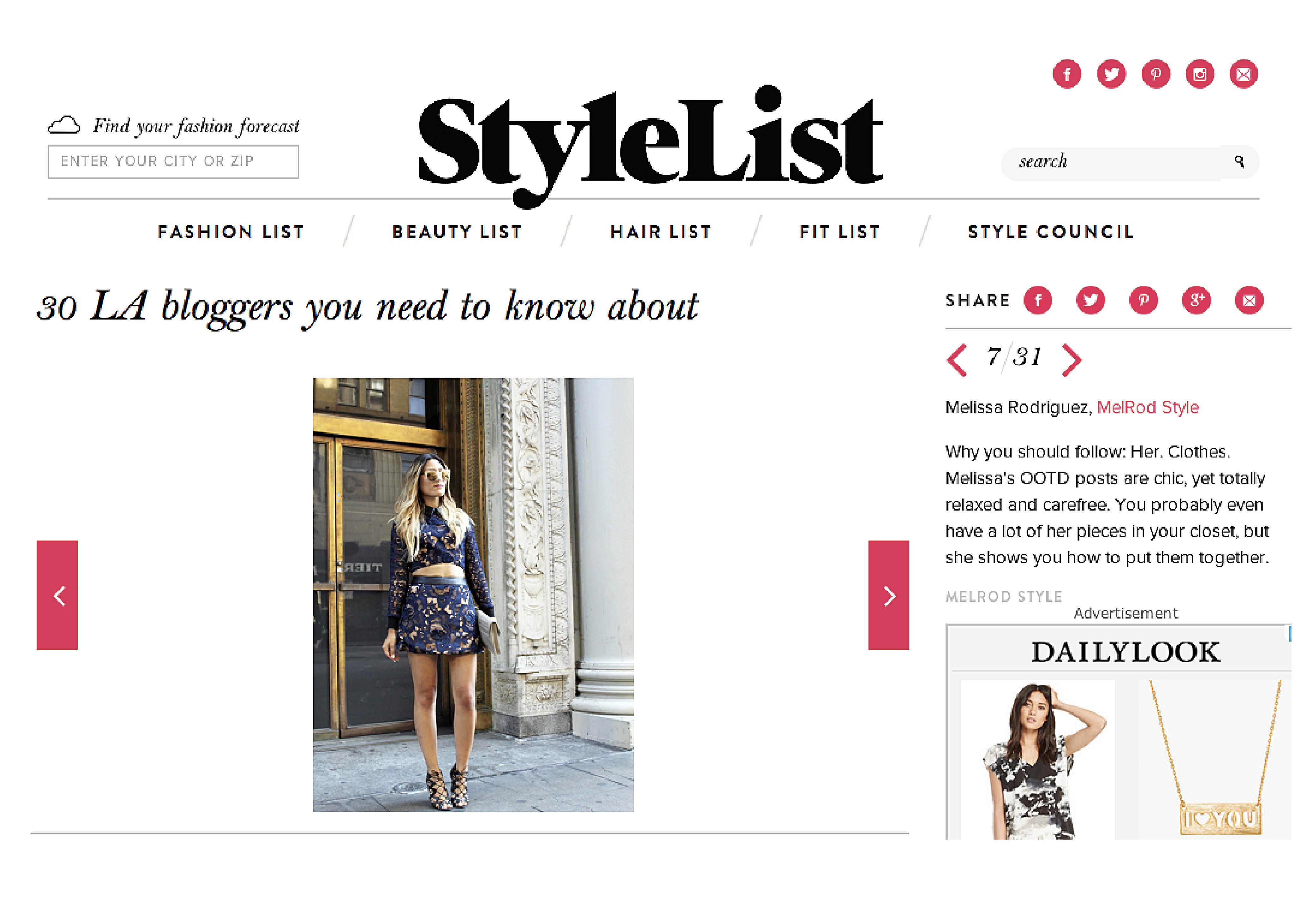 StyleList, LA Bloggers, Bloggers, Fashion, Melrodstyle