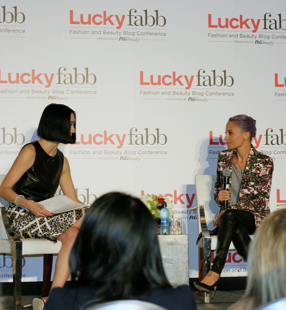 Lucky Fabb, Nicole Richie, Eva Chen, Conference, Lucky Magazine, Panel, Fashion, Inspiration, Celebrity