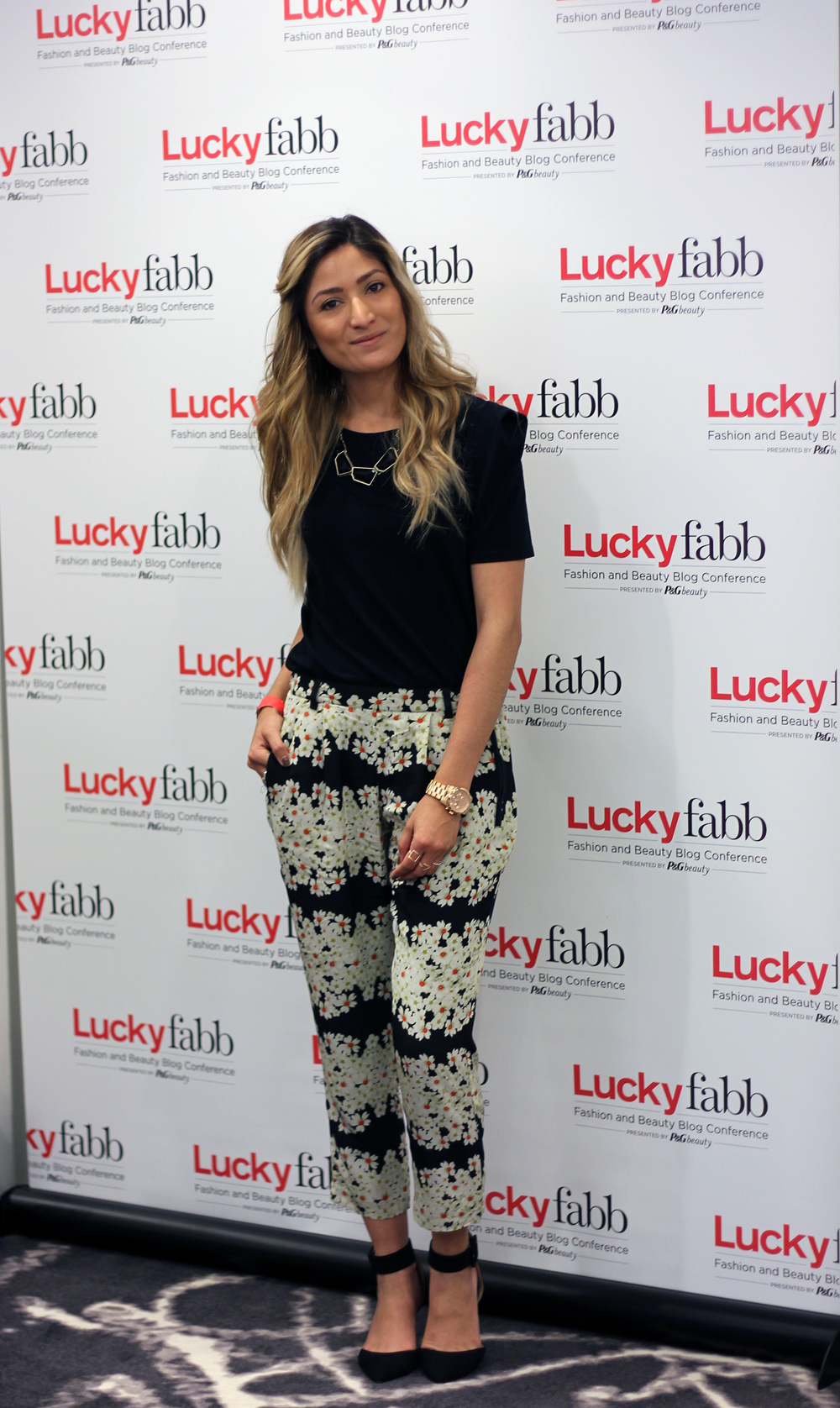Lucky Fabb, Outfit, What I Wore, Trending, Floral, Flower, Pants, OOTD, Street Style, Fashion Blogger, LA Fashion Blogger, Lucky Magazine