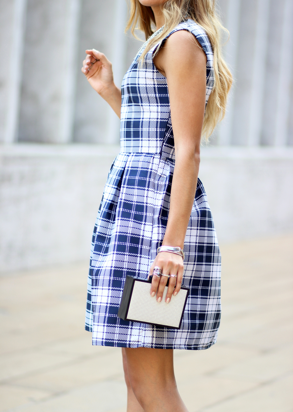 Plaid, Happy Hour Collection, Sole Society, Streetstyle, Melrodstyle, New York, Fashion Week, Outfit, LA Blogger, Quay, Lincoln Center