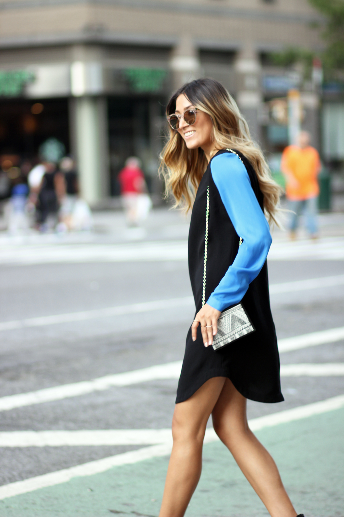 LBD, NYC, New York, NYFW, MBFW, Streetstyle, Melrodstyle, Fashion Week, Quay Australia, ShopPrimaDonna
