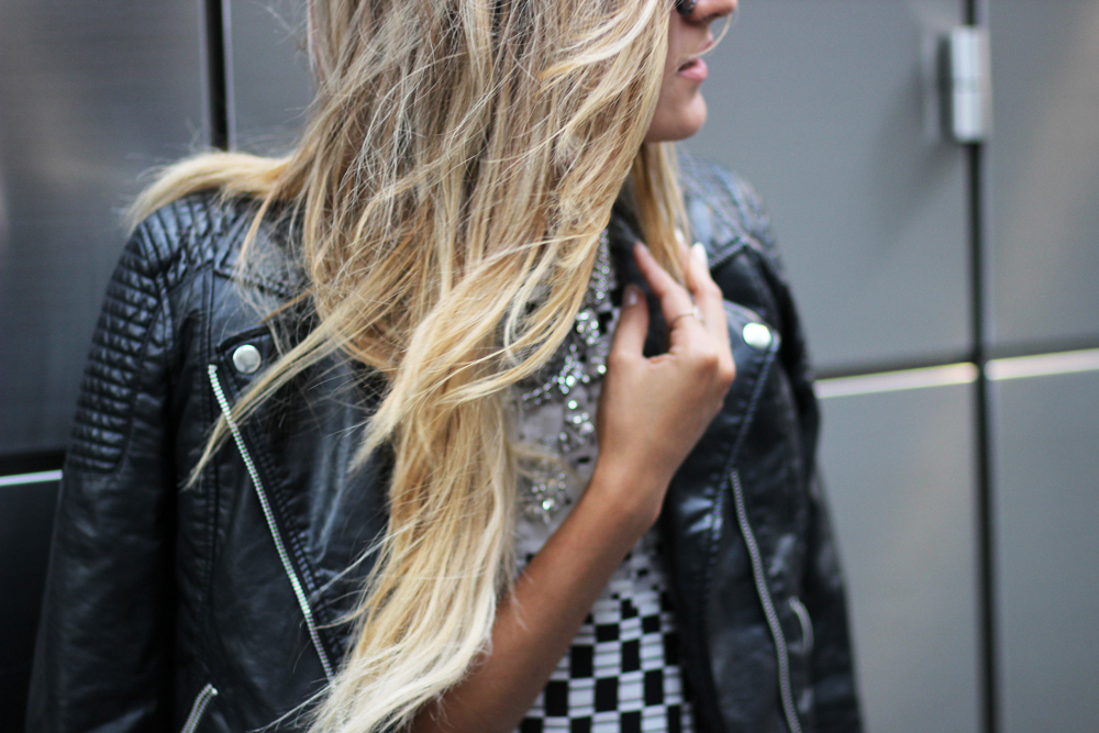 Topshop, Leather, Streetstyle, melrodstyle, new york, fashion week, outfit, la blogger