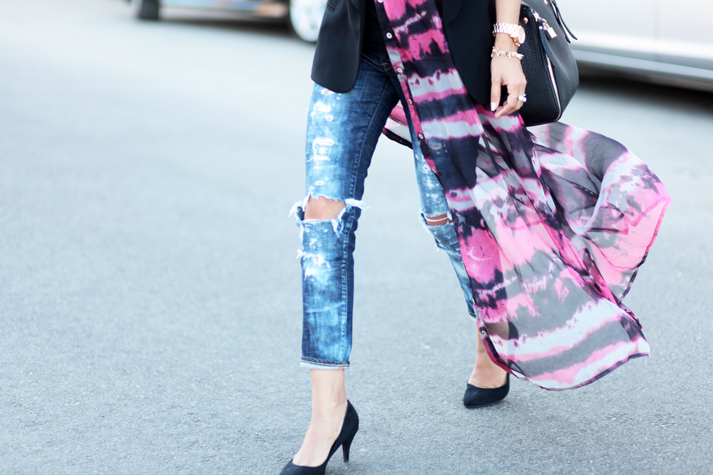 Distressed Denim, Melrodstyle, Streetstyle, outfit of the day, look of the day, lookbook, blogger, daily look