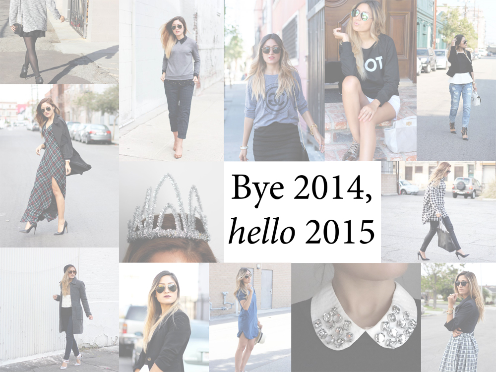 bye 2014, hello 2015, reflections, reflecting, new year, new years eve, nye, happy new year, melrodstyle, outfit recap, inspiration, blogger
