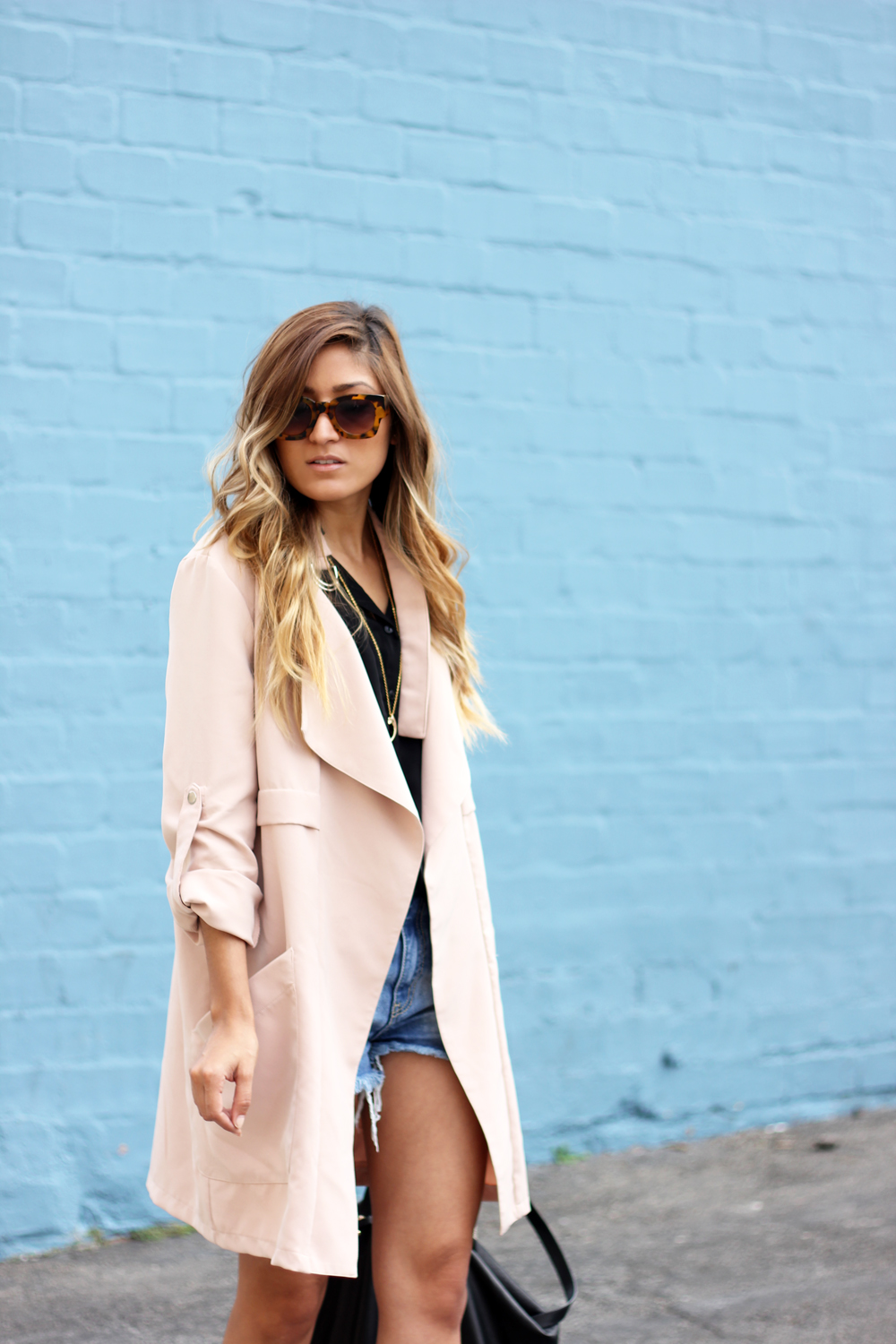 daily look, coat, ymi jeans, shorts, basics, staples, stylist, who what wear, melrodstyle, street style, la blogger, arts district