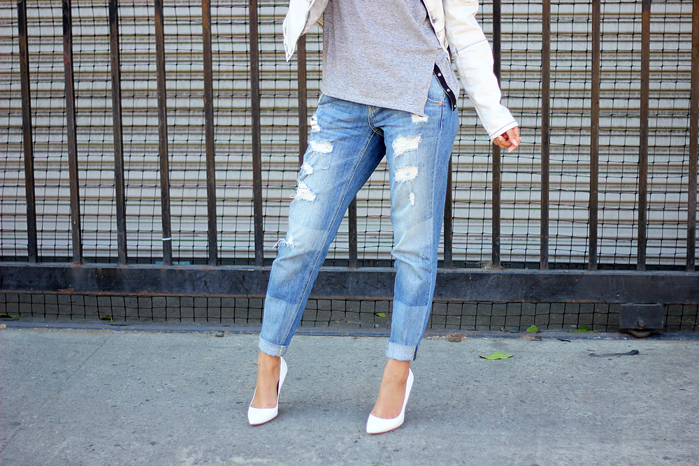 denim monochrome, denim, melrodstyle, stylelist, who what wear, street style, latina blogger, mexican blogger,