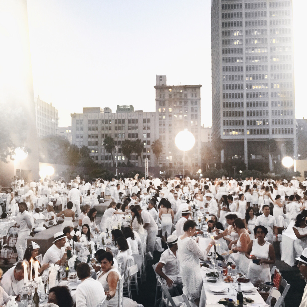 le diner en blanc, celebrity cruises, event, dinner, all white, white, outfit