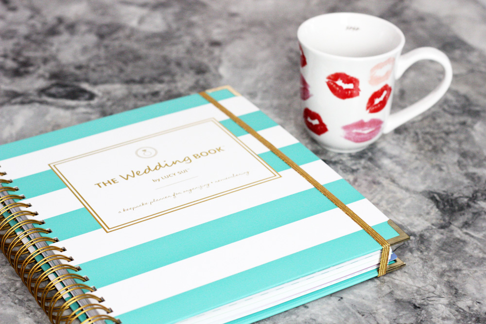 lucy sui, wedding book, wedding planner book, bride mug, coffee mug, melrodstyle, em and gee, mandgtobe, wedding, bride, bride to be, weddings, trending, giveaway