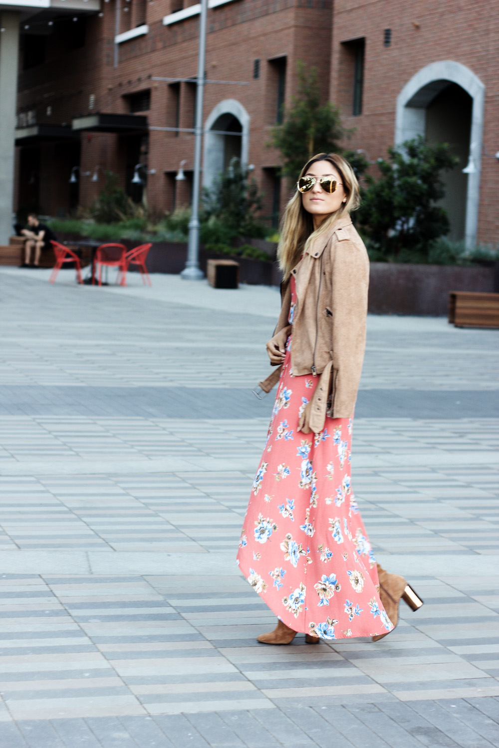 bare rebel, floral, fall, florals, floral maxi dress, ootd, mexican blogger, la blogger, latina blogger, hispanic blogger, street style, los angeles blogger, outfit, fashion, style