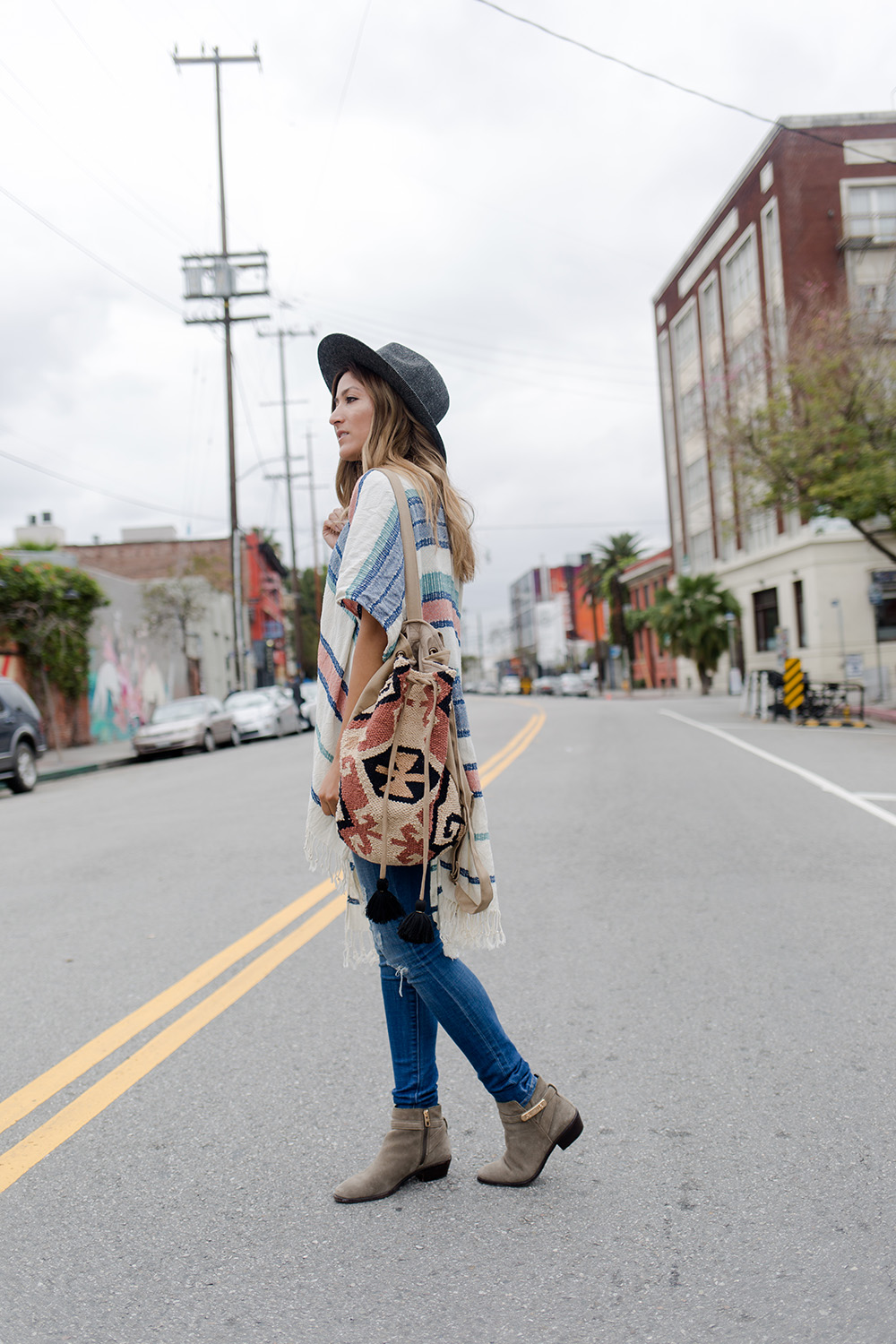 How to Style a Boho Shawl Three Ways, World Market, one item three ways, melrodstyle, outfit inspiration, outfit, ootd, inspiration, look of the day, look, style, fashion, blogger style, street style, boho, la blogger,