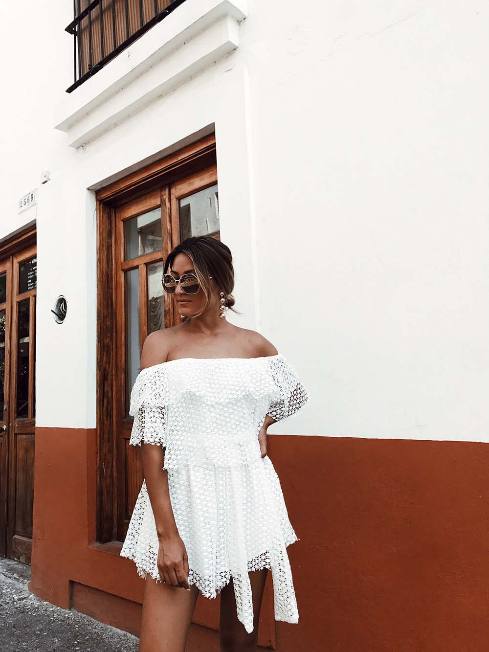 Let's Talk Babies, pregnant, pregnancy, babies, baby, baby fever, personal, sabotage skirt, white lace playsuit, white lace romper, ootd, melrodstyle, la blogger, ootd, street style,