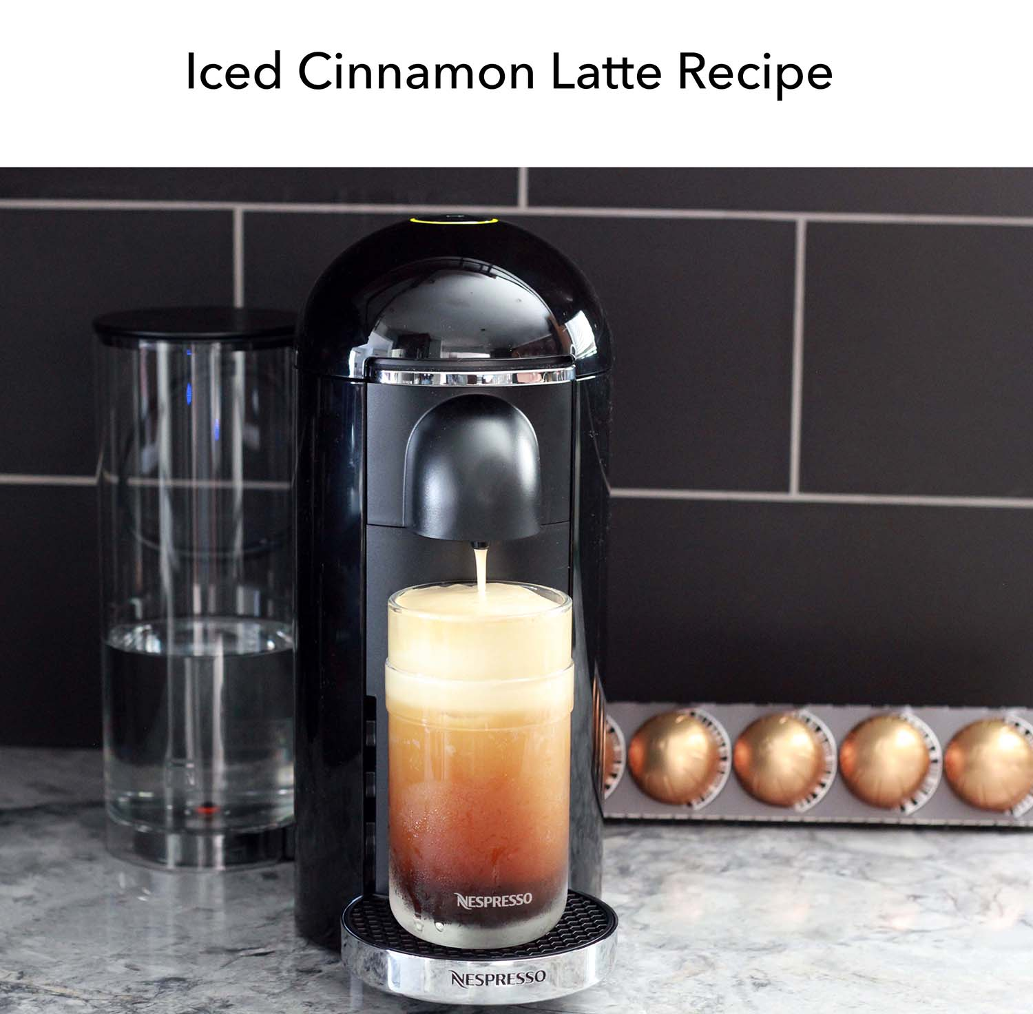 Elevating My Morning with Nespresso, Nespresso, Coffe, latte, espresso, morning, melrodstyle, ice cinnamon latte, lattes, recipe, iced cinnamon latte recipe, nespresso recipe, nespresso usa, la blogger, trending, lifestyle