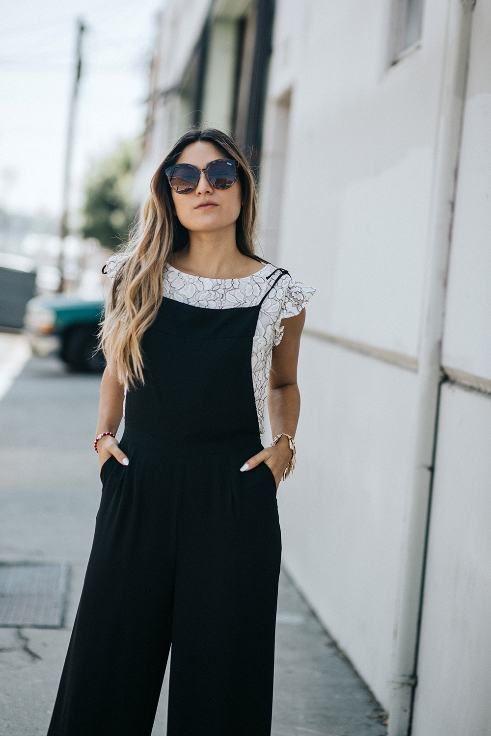 All Dressed Up | Paper Crown, paper crown, lauren conrad, jumpsuit, blouse, dressy, dressed up, ootd, melrodstyle, la blogger, latina blogger, hispanic blogger, mexican blogger, blogger, style, street style, dtla